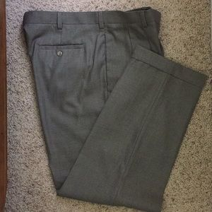 Men's John Henry Pleated Front Dress Pants Cuffed